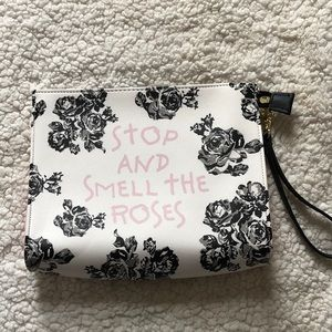 """Betsy Johnson """"Stop And Smell The Roses"""" bag"""
